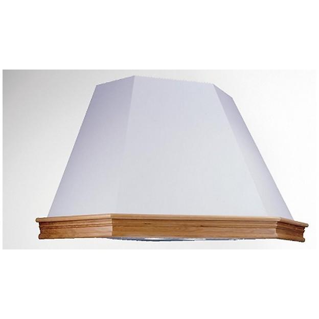 rustica angolo 105 cm bianco tecnowind cappa