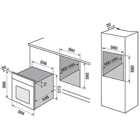 rzb-2100aon electrolux forno da incasso classe a sabbia multicinque