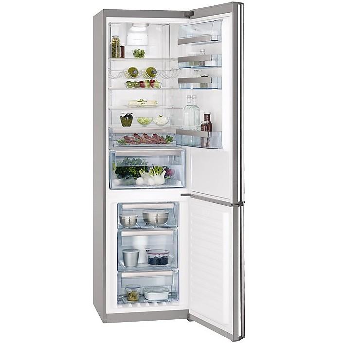 s-93820cmx2 aeg frigorifero classe a++ 350 litri 60 cm statico vent inox