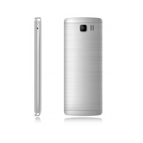 Saiet like st-mb20 silver cellulare dual sim