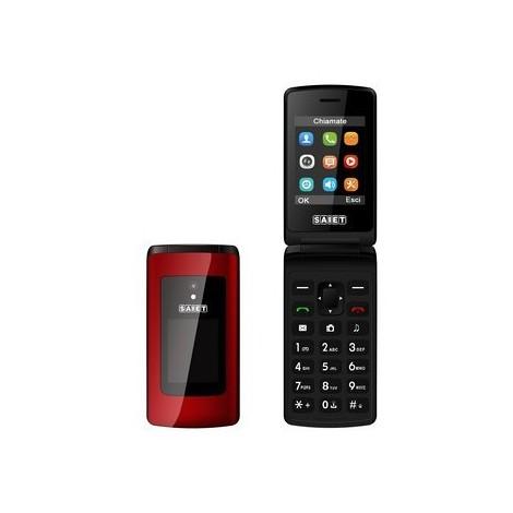 Saiet like st-mc20 rosso cellulare dual sim
