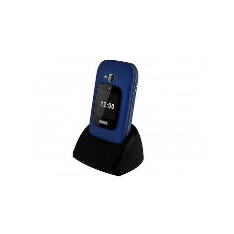 Saiet unico max blu cellulare doppio display
