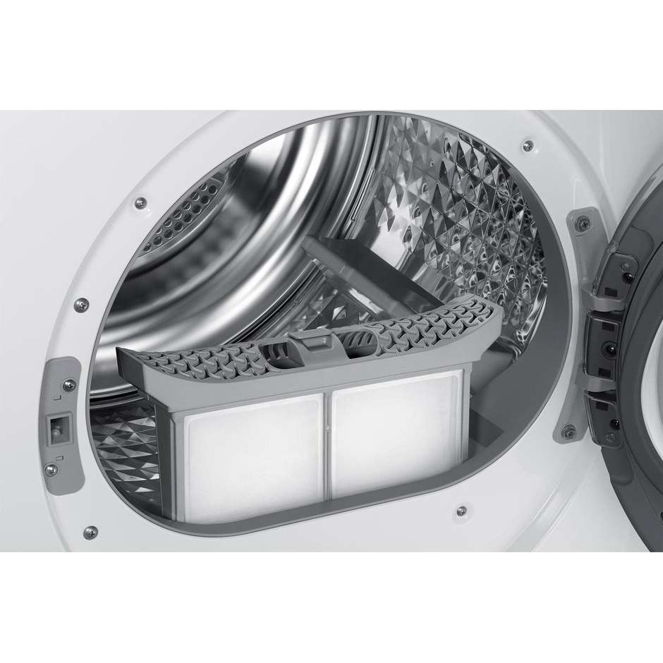 Samsung DV80M50101W Asciugatrice a pompa di calore 8 Kg Classe A++ 2in1 15 programmi colore Bianco