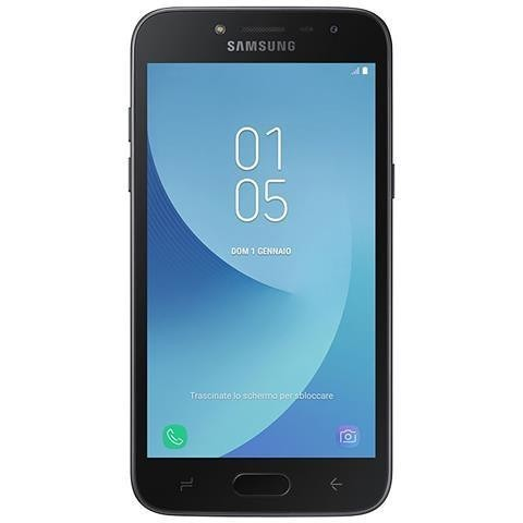 """Samsung Galaxy J2 2018 Smartphone 5"""" memoria 16 GB Fotocamera 8 MP colore Nero"""