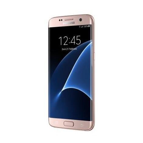 Samsung Galaxy S7 Edge Smartphone Display 5.5 pollici Ram 4 Gb 32 Gb colore Rosa
