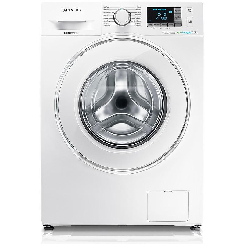 samsung lavatrice wf70f5e5u2w/et