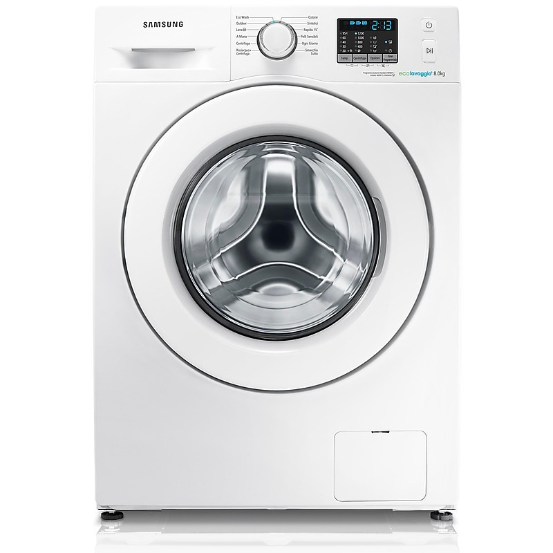 samsung lavatrice wf80f5e0w2w/et
