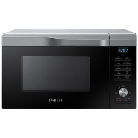 Samsung MC28M6075CS Microonde+Grill+Aria Ventilata Potenza 900+Potenza Grill 1500+Potenza Aria Ventilata 2100 Watt Capacità 28 Litri Colore Argento / Nero
