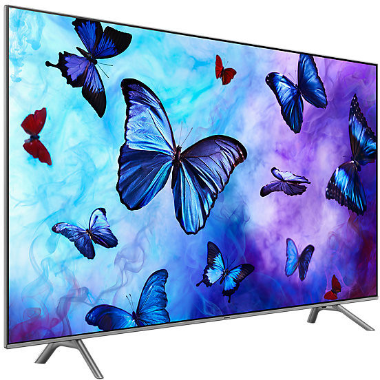 "Samsung QE49Q6FNATXZT Tv Led 49"" 4K Ultra HD Wi-Fi Classe B Smart TV colore Silver"