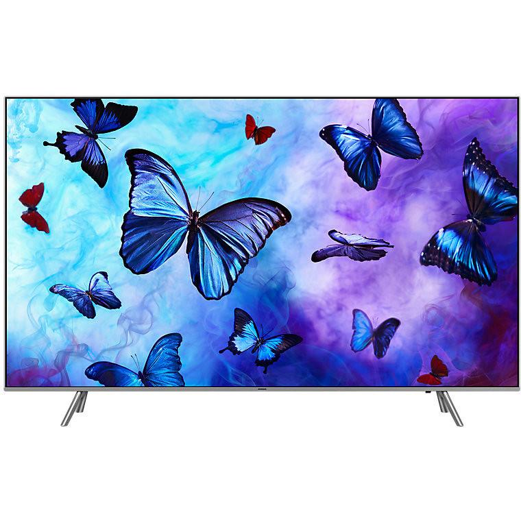 "Samsung QE49Q6FNATXZT Tv QLED 49"" 4K Ultra HD Wi-Fi Classe B Smart TV colore Silver"