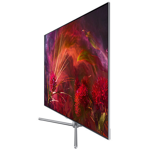 "Samsung QE55Q8FNATXZT Tv QLED 55"" 4K Ultra HD HDR 10+ Smart Tv Wifi classe B colore argento"