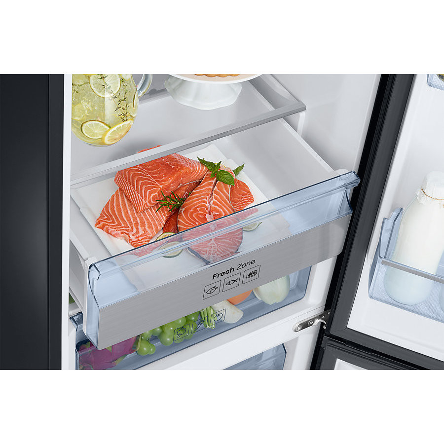 Samsung RB37K63632C frigorifero combinato classe A++ 367 litri Total No Frost nero