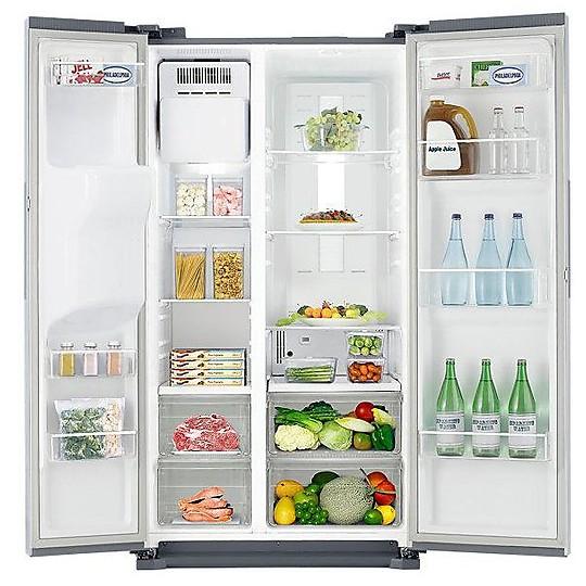Samsung RS7547BHCSP frigorifero side by side 537 litri classe A+ ...