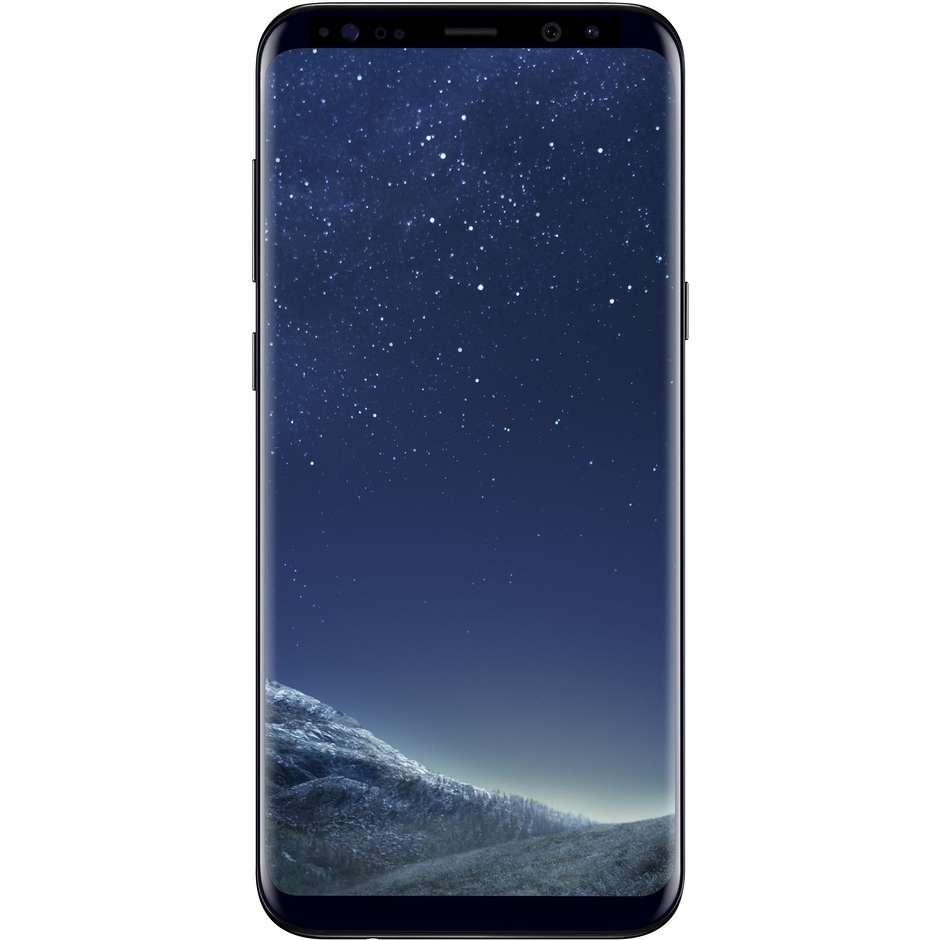 Samsung SM-G955FZKAITV Galaxy S8 Plus Smartphone Android Garanzia Italia Ram 4 GB Memoria 64GB colore Nero
