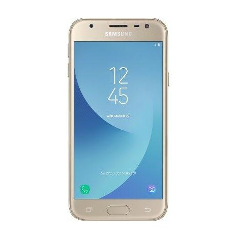 "Samsung SM-J330FZDNITV Galaxy J3 2017 Smartphone Rete 4G LTE Display 5"" HD Colore Oro"