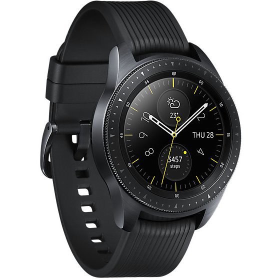 Samsung SM-R810NZKAITV Galaxy Watch smartwatch 42 mm Bluetooth NFC colore nero