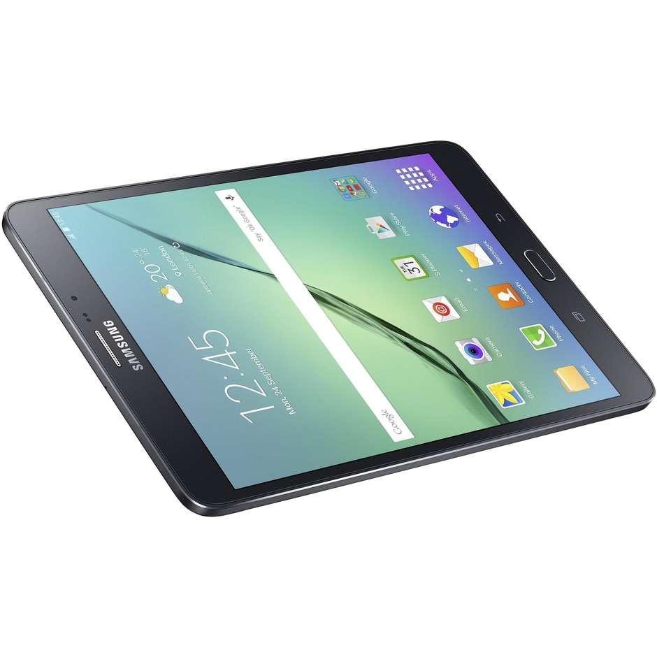"Samsung SM-T719NZKEITV Galaxy Tab S2 Tablet 8"" memoria 32 GB Wifi 4G Lte colore Nero"