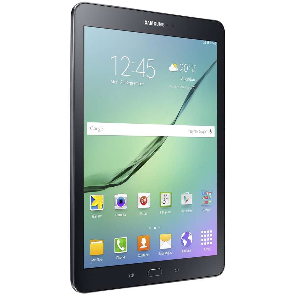 "Samsung SM-T819NZKEITV Galaxy Tab S2 Tablet 9,7"" memoria 32 GB Wifi 4G Lte colore Nero"
