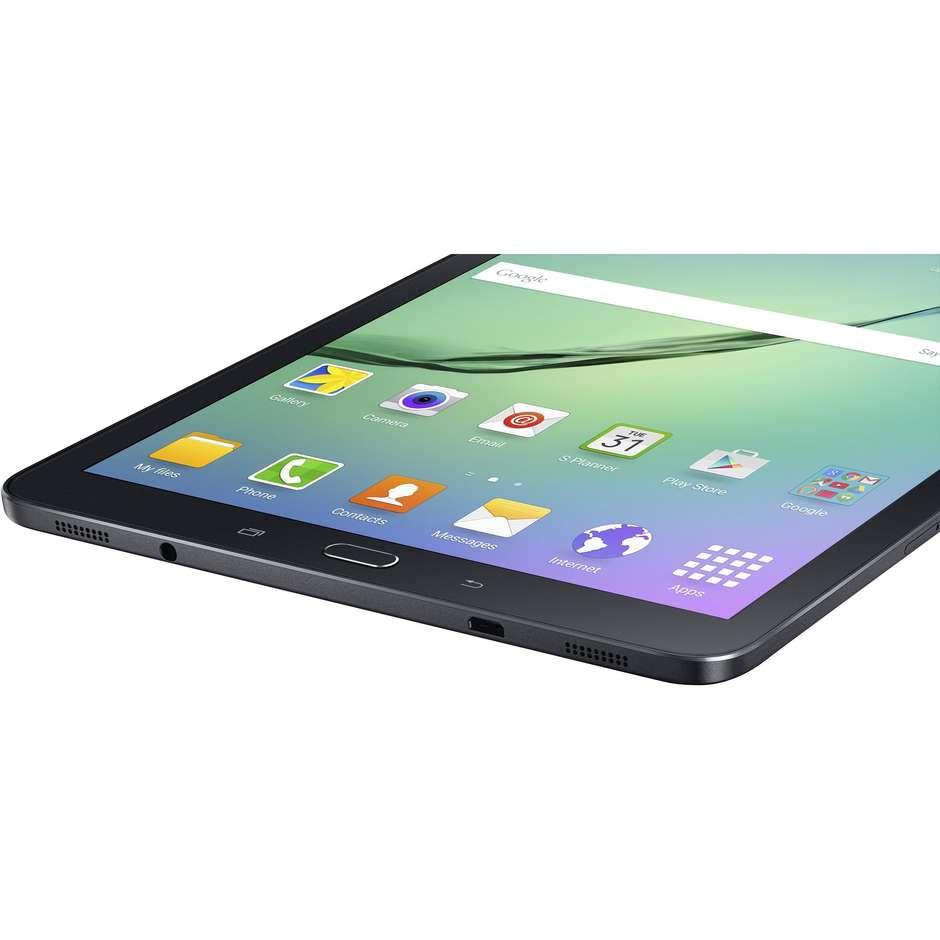 """Samsung SM-T819NZKEITV Galaxy Tab S2 Tablet 9,7"""" memoria 32 GB Wifi 4G Lte colore Nero"""