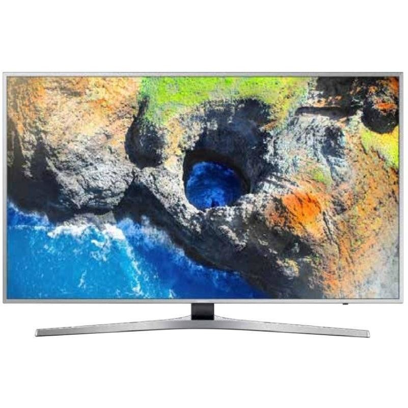 "Samsung UE49MU6400UXZT Tv LED 49"" 4K Ultra HD Smart Tv Wi-fi classe A argento"