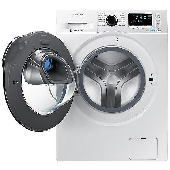 Samsung ww80k6414qw lavatrice carica frontale 8 kg 1400 for Lavatrice 8 kg offerta