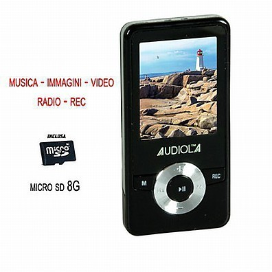 AUDIOLA sda-8270/8gb audiola lettore mp3