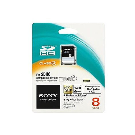 secure digital hc memory 8 gb