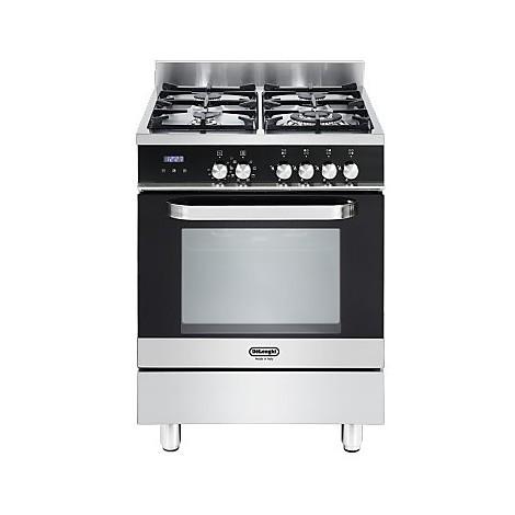 Semn 664 de longhi cucina 60x60 cm 4 fuochi forno elettrico nera inox cucine cucina 4 fuochi - Cucina elettrica de longhi ...