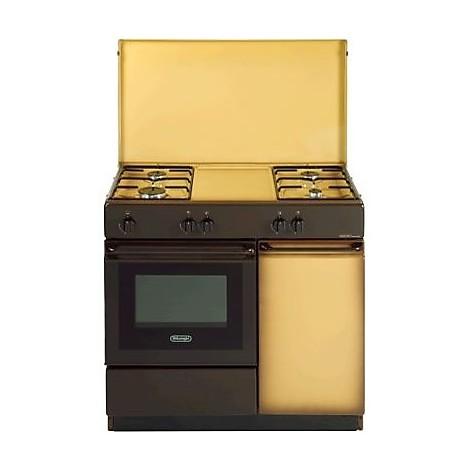 Sgk 854 delonghi cucina 4 fuochi a gas marrone cucine - Delonghi cucina a gas ...