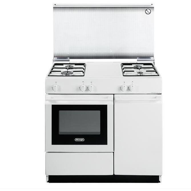 sgw-854n de longhi cucina 86x50 4f vs fg+pb bianca