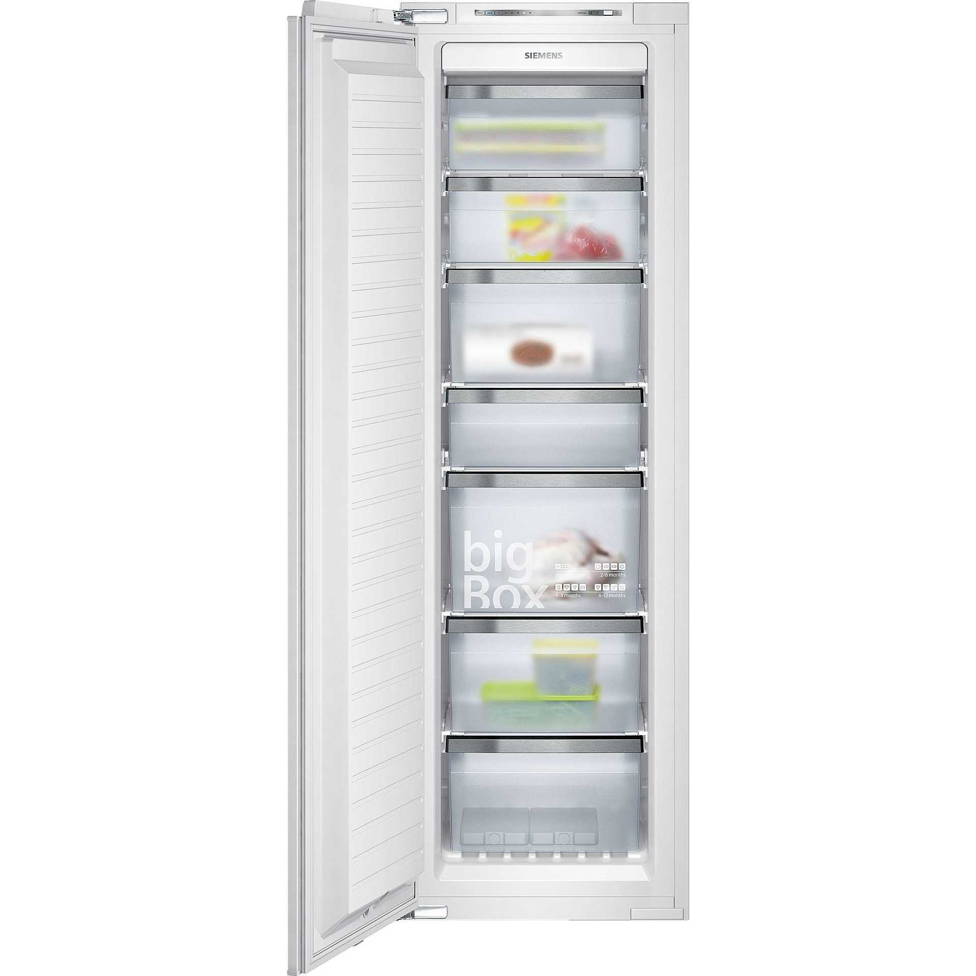 siemens gi38np60 congelatore verticale da incasso 210 litri classe a no frost frigo e. Black Bedroom Furniture Sets. Home Design Ideas