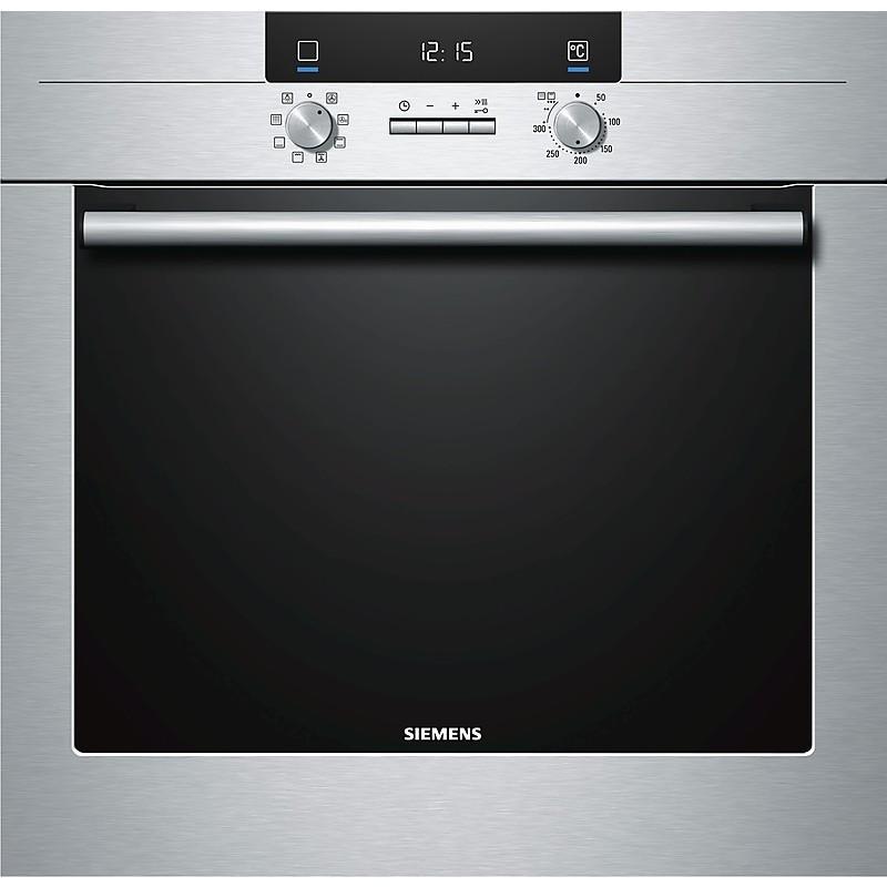 Siemens hb63ab530j forno elettrico ventilato da incasso 63 litri classe a colore inox forni da - Forno ventilato da incasso ...