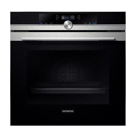 Siemens hb675gbs1j forno elettrico multifunzione da incasso 71 litri classe a inox forni da - Forno da incasso elettrico ...