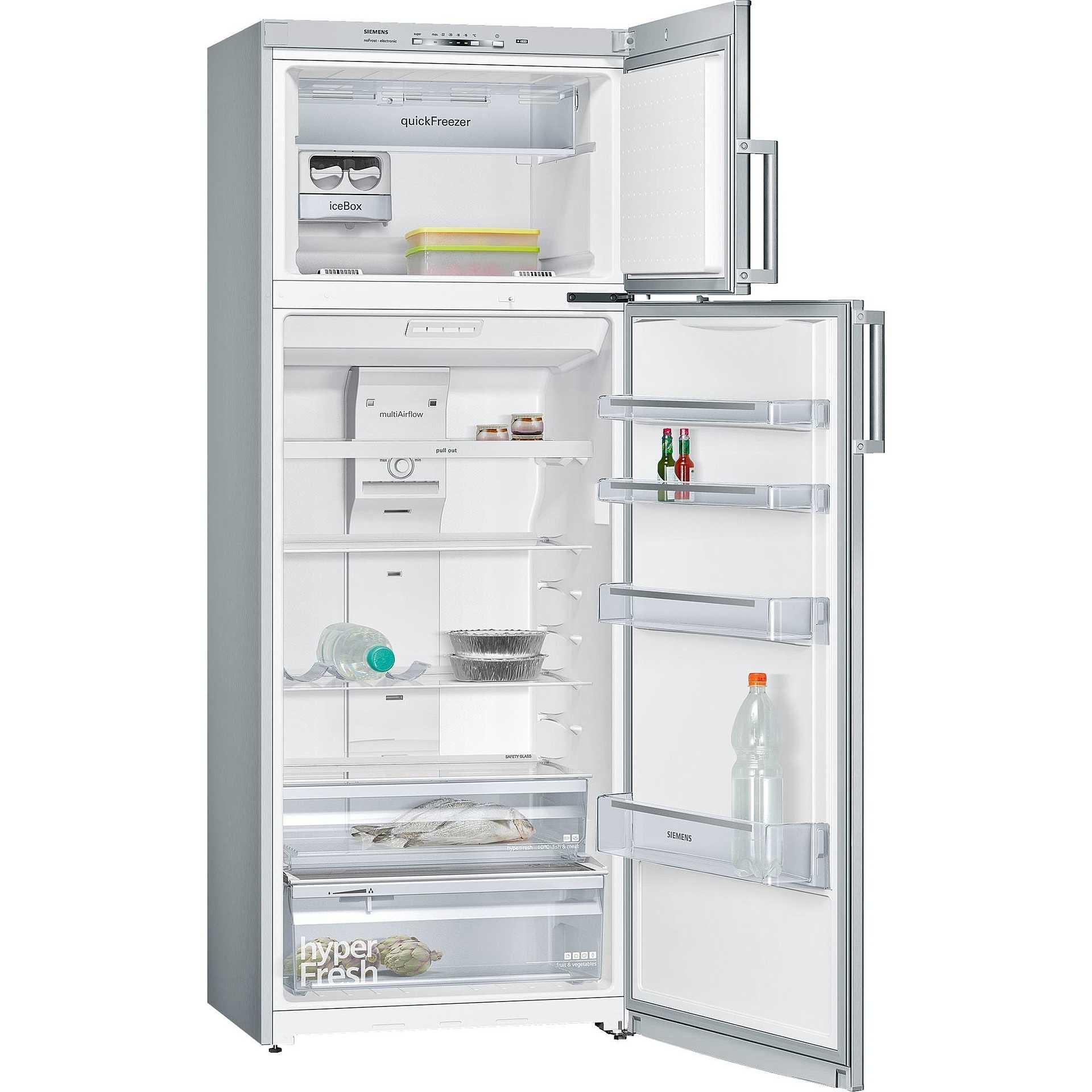 Siemens kd46nvi20 frigorifero doppia porta 371 litri - Frigoriferi doppia porta classe a ...