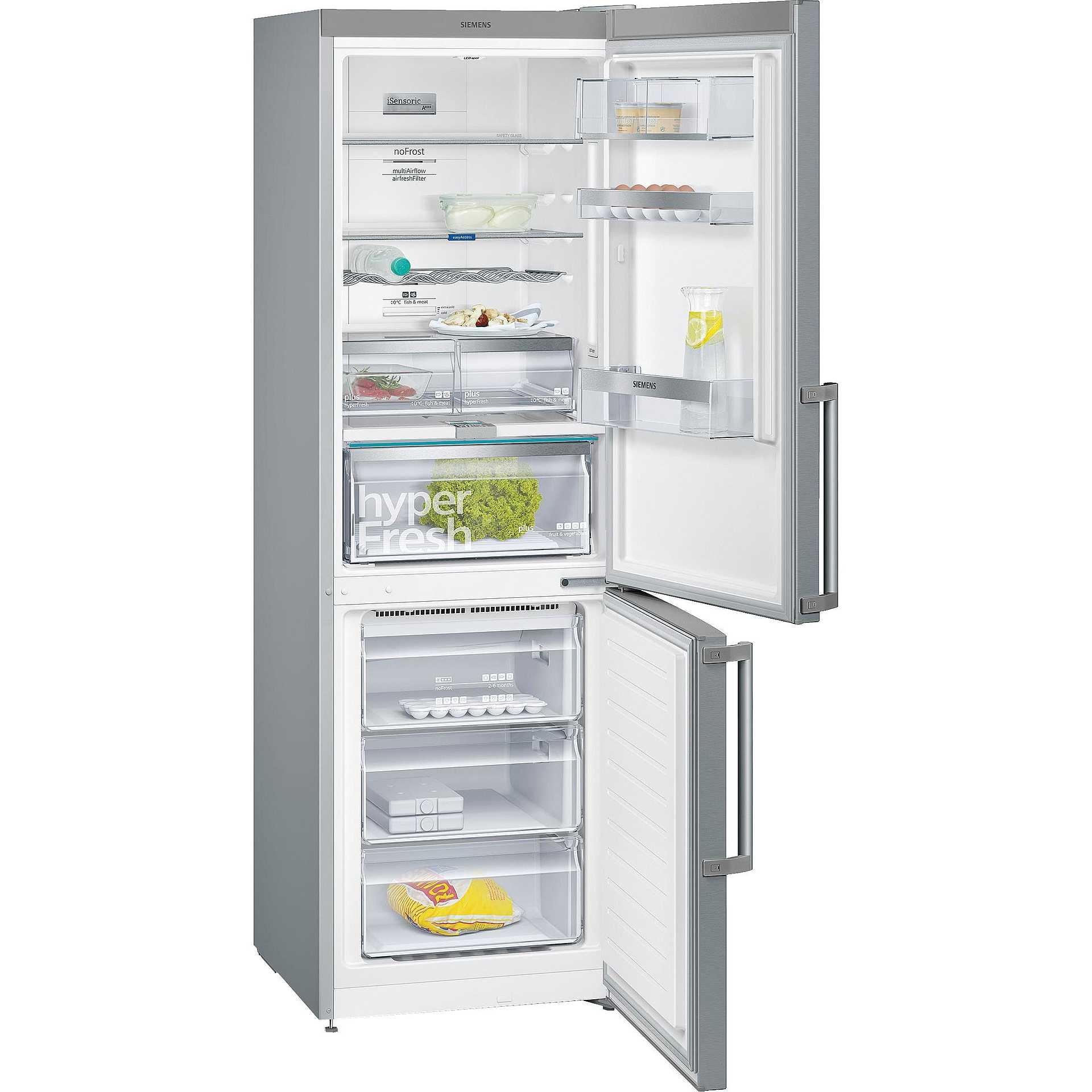 Siemens kg36nai45 frigorifero combinato classe a 324 for Frigorifero a no frost