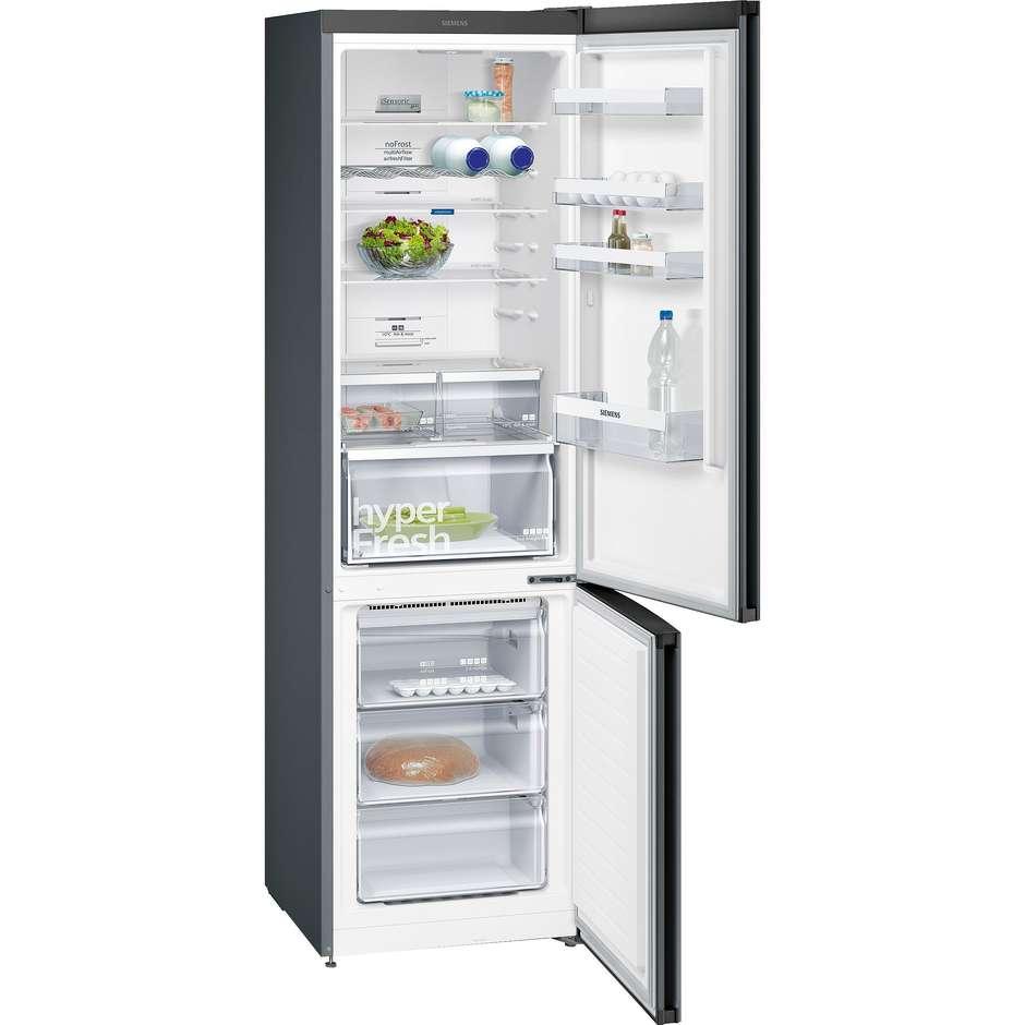 Siemens KG39NXB45 frigorifero combinato 366 litri classe A+++ No Frost inox nero