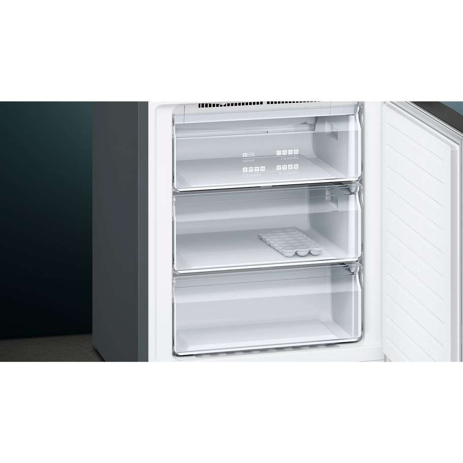 Siemens KG49NXX4A frigorifero combinato 435 litri classe A+++ No Frost black inox