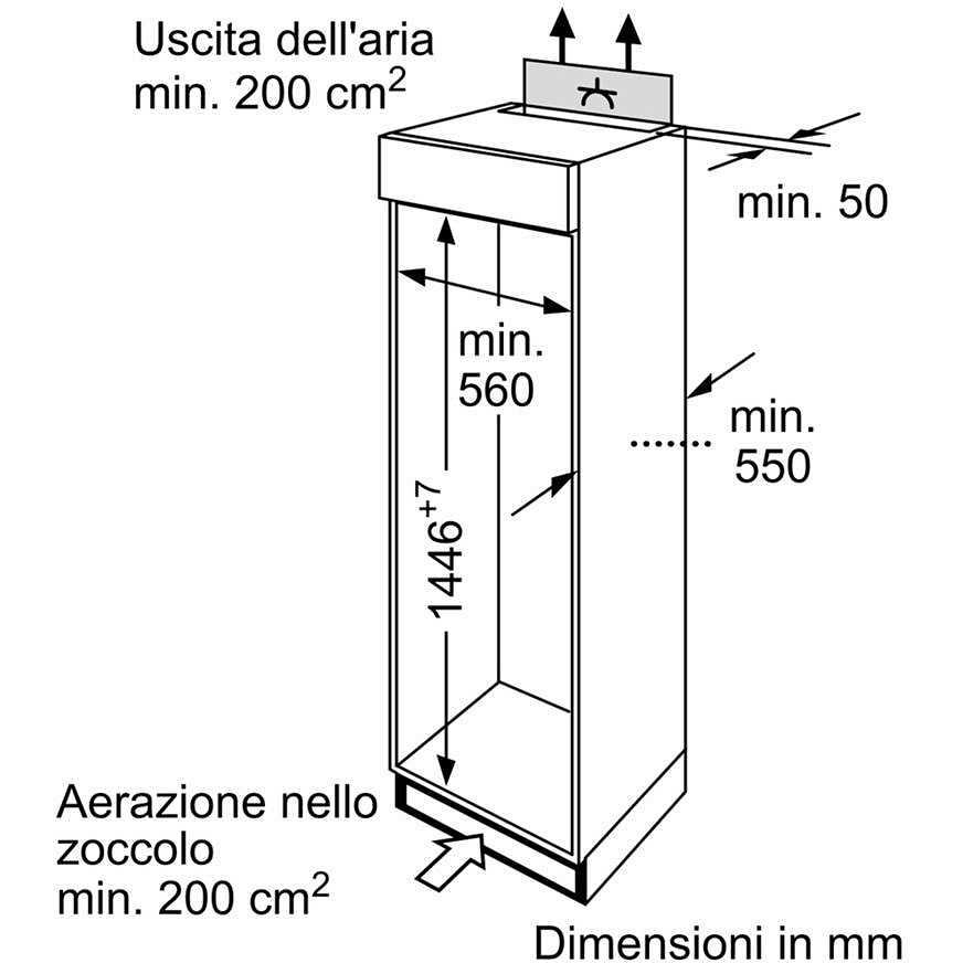 Siemens Ki26da30 Frigorifero Doppia Porta Da Incasso 229