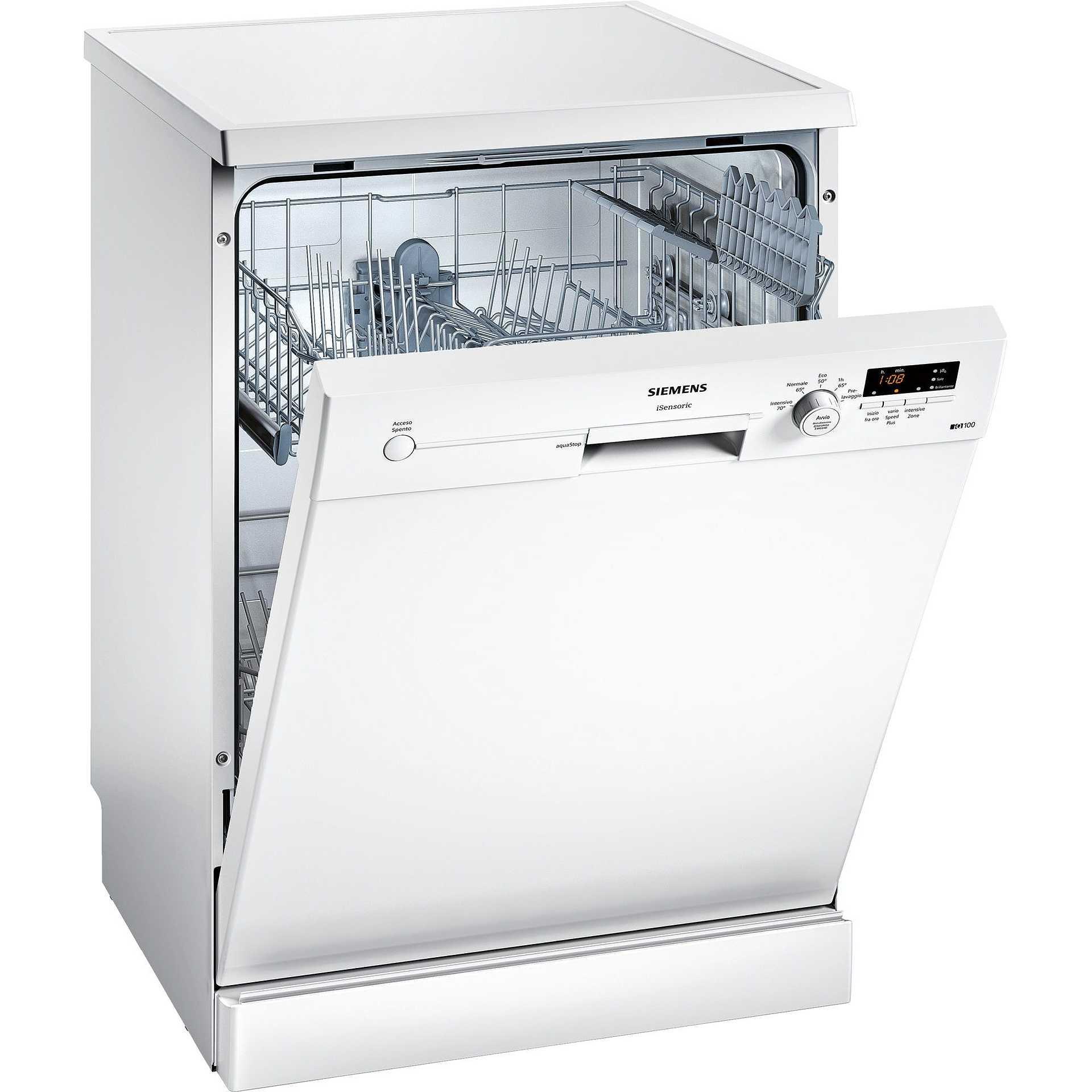 Siemens SN215W02AJ iQ100 lavastoviglie 12 coperti 5 programmi ...