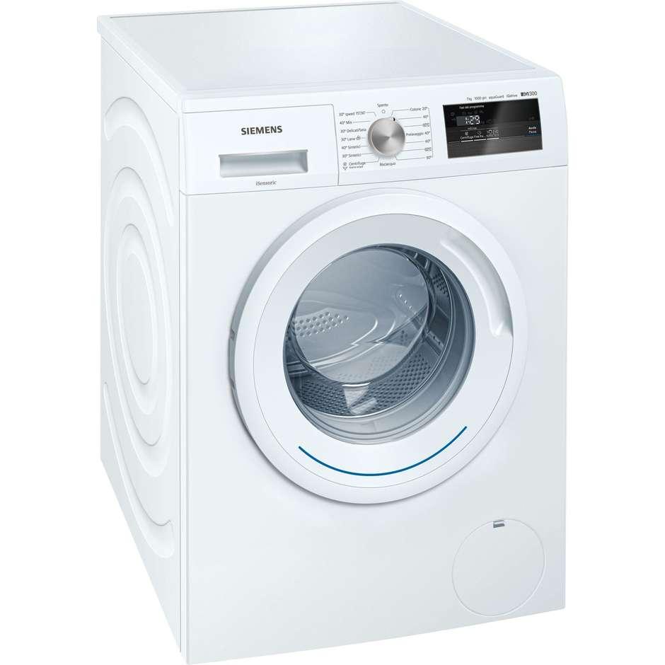 Siemens WM10N027IT lavatrice carica frontale 7 Kg 1000 giri classe A+++ colore bianco