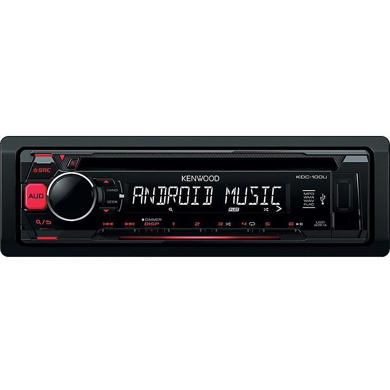 sintolettore cd/usb tasti rossi