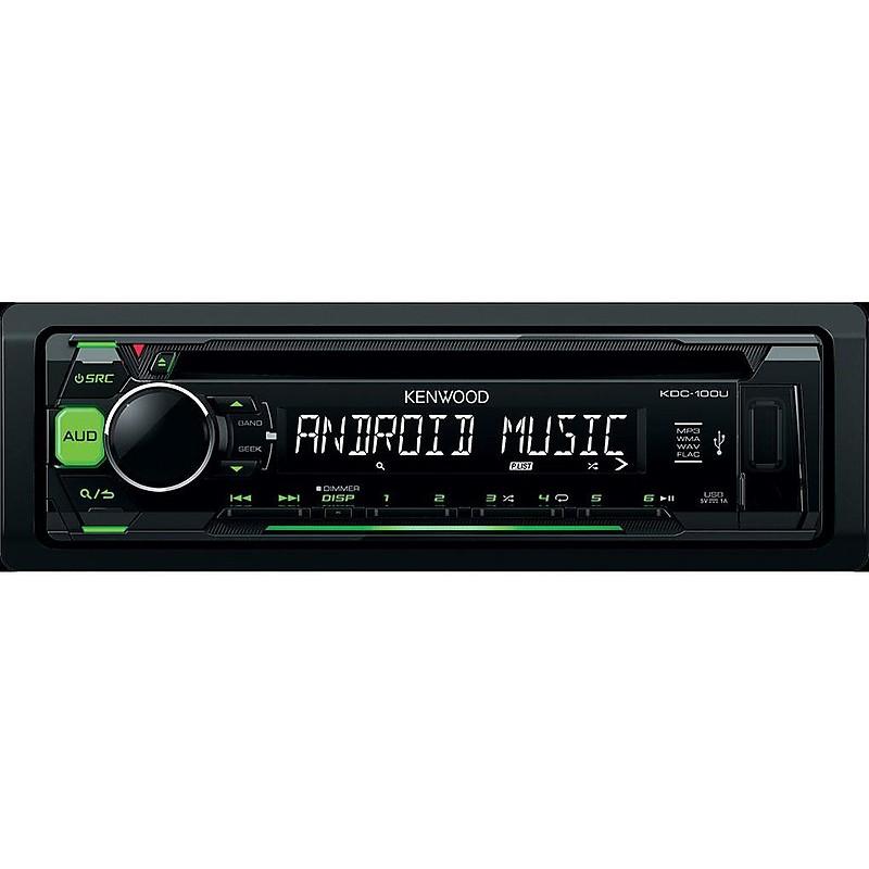 sintolettore cd/usb tasti verdi