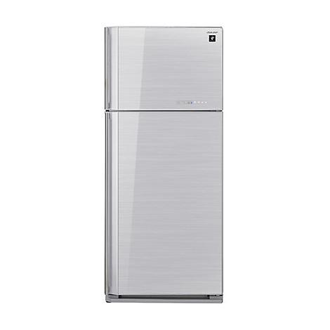 ... -gc700vsl sharp frigorifero classe a+ 583 litri 80 cm no frost silver