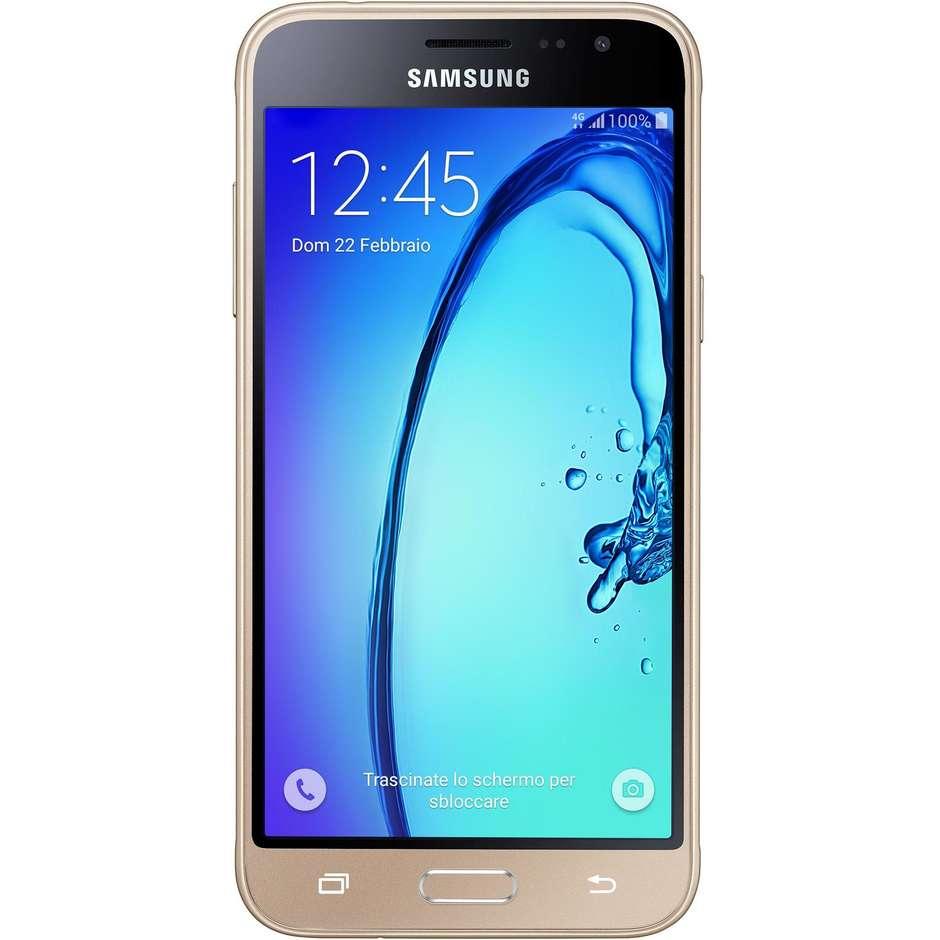 "Smartphone galaxy j3 2016 gold Display 5"" HD 4G LTE"
