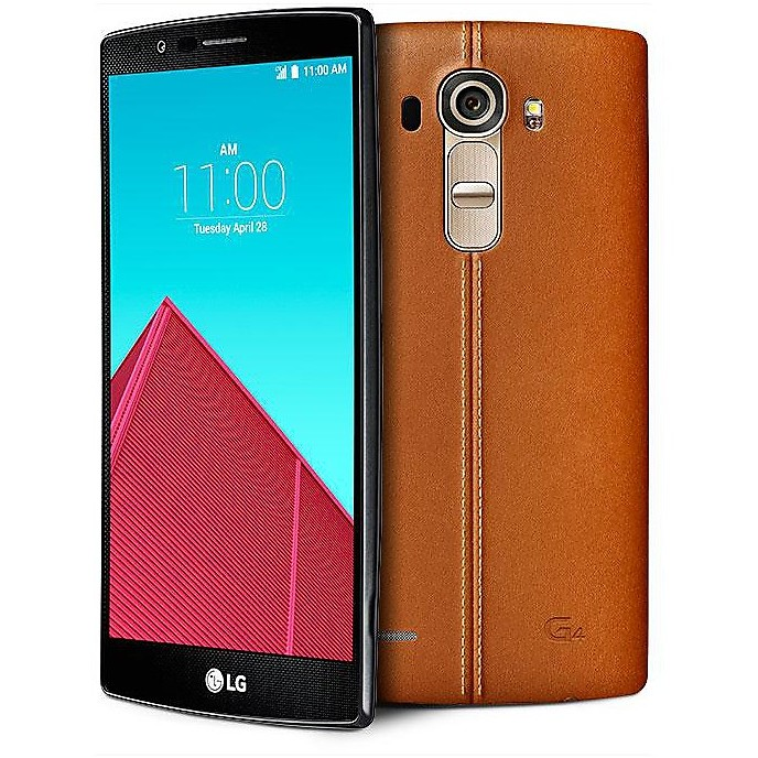 Smartphone lg g4 leather brown