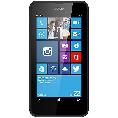 NOKIA Smartphone Lumia 635 Black Vodafone Nokia Windows