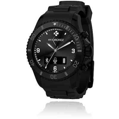 ZEWATCH smartwatch my kronoz zeclock black