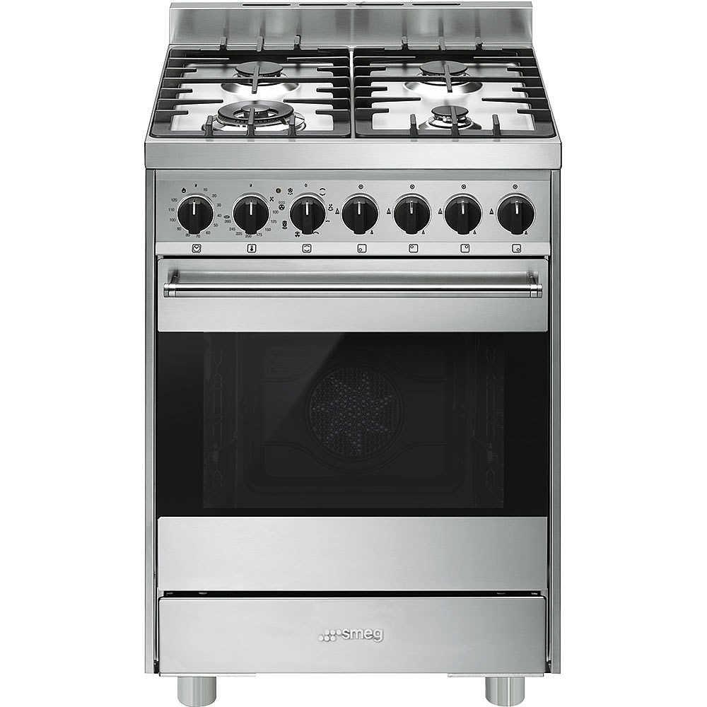 Smeg B6GMXI9 cucina Libera installazione Piano cottura a gas ...