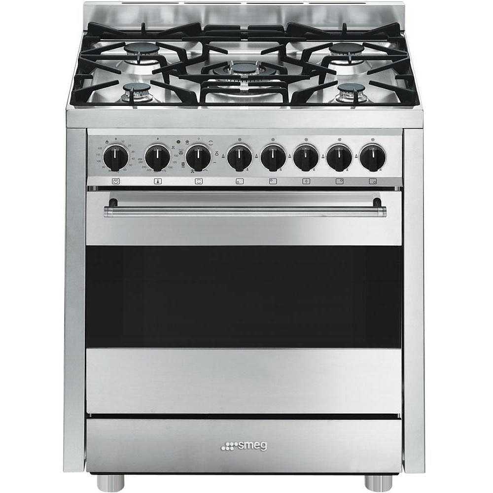 smeg b7gmxi9 cucina libera installazione acciaio inox - cucine 5 ... - Cucina A Libera Installazione