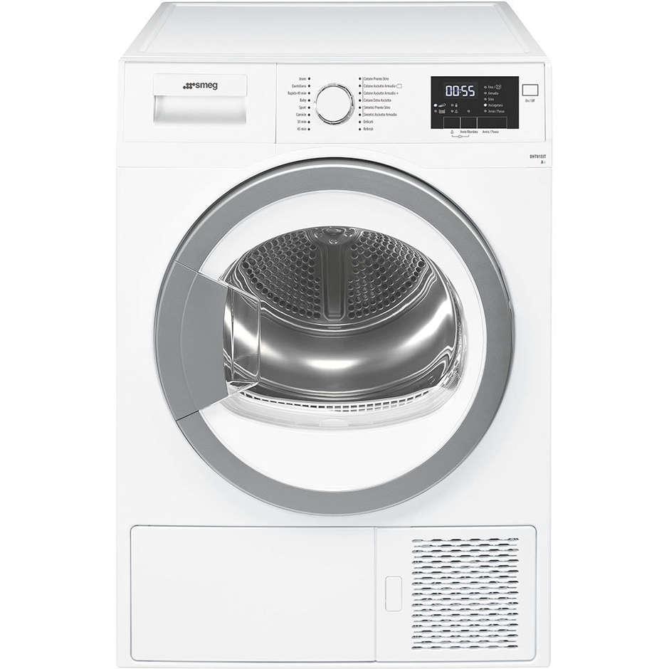 Smeg dht81eit asciugatrice a pompa di calore 8 kg classe for Asciugatrice a pompa di calore